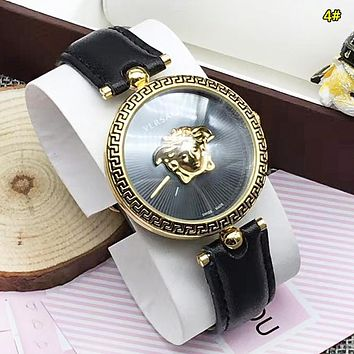 Versace New fashion dial human head couple watch wristwatch 2#