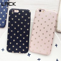 LACK Top selling Phone Case For iphone6 cases For iPhone 6 6S plus Ultra Thin Gold Stars Pattern Full Protect Cover Coque Funda