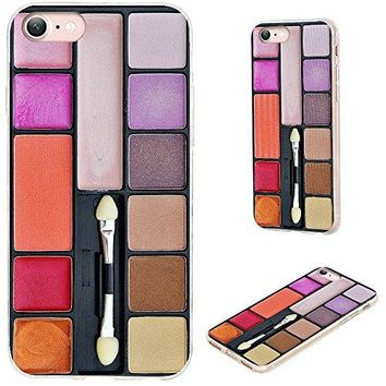 iPhone 8 Case,iPhone 7 Case,VoMotec [Original series] Shockproof Anti-scratch Slim Flexible Soft TPU Protective Skin Cover Case For Apple iPhone 7 8 4.7 inch,funny colorful makeup kit