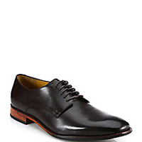Saks Fifth Avenue Collection - Saks Fifth Avenue by Cole Haan Kilgore Leather Derby Shoes  - Saks Fifth Avenue Mobile