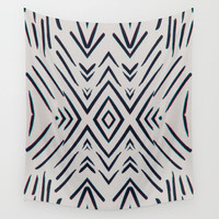 Geometric whatever Wall Tapestry by duckyb