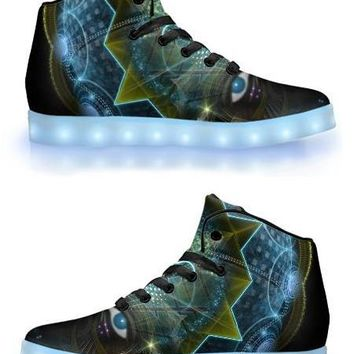 Dogon by Sam and Cate Farrand - APP Controlled High Top LED Shoe