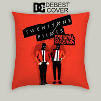 Twenty One Pilots Emotional Roadshow Pillow Cases Square Available In 16 x 16 Inches 18 x 18 Inches 20 x 20 Inches