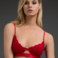 Bow Front Bra