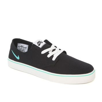 Nike SB Braata LR Canvas Shoes - Mens Shoes - Black/Mint