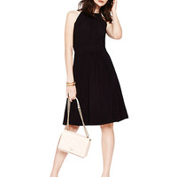 Kate Spade Trapeze Dress Black