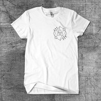 T Shrit Men-T Shirt Women-Clothing-Screen Print- La Dispute Flower