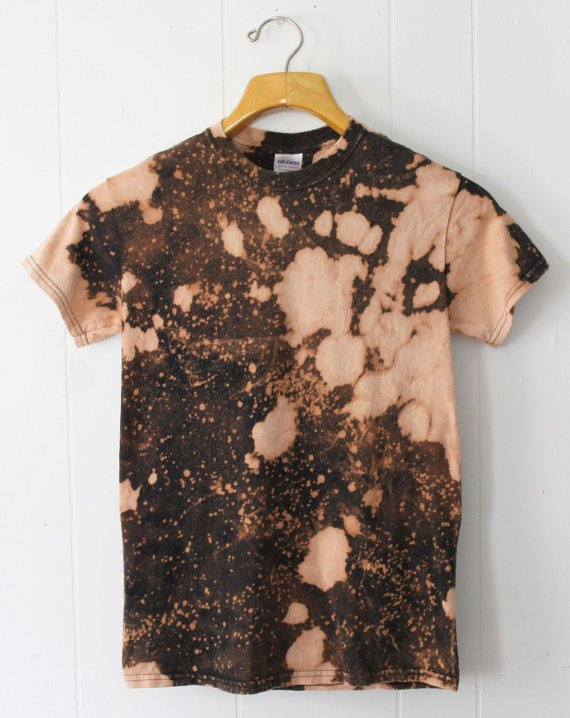 Black Bleached Shirt | Artee Shirt