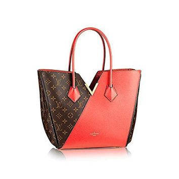 Authentic Louis Vuitton Kimono Tote Monogram Canvas Handbag Article: M41728 Poppy Made in France