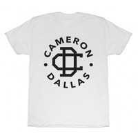 Cameron Dallas Logo T-Shirt - BLV Brands
