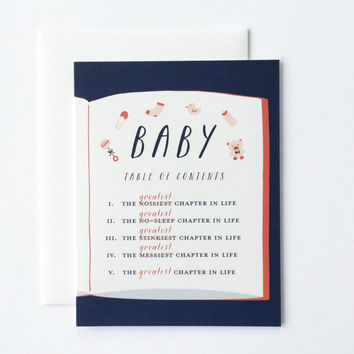 Best Chapter Baby Card