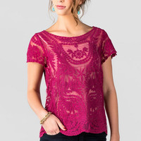La Crescenta Lace Top