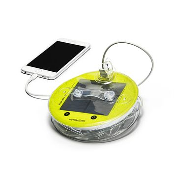 MPowerd Luci Pro: Outdoor 2.0 + Mobile Charging, collapsible solar light