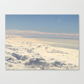 Above the Clouds Canvas Print by Kayleigh Rappaport