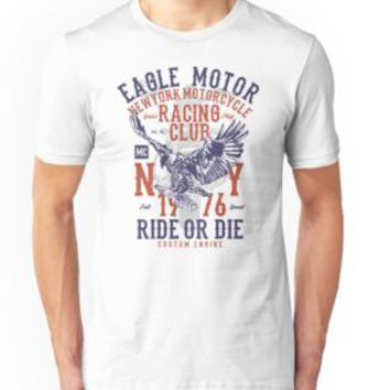 'MOTORCYCLE RACING' T-Shirt by Super3