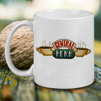 Central Perk Cafe Tea Mug, Tea Mug, Coffee Mug
