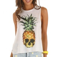 Tops > POISON PINEAPPLE TOP