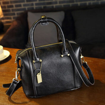 Retro Fashion Leather Shoulder Bag Female Casual Crossbody Bag Women Messenger Bags Chic Handbag Gift 14