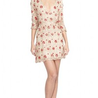 alice + olivia | ARLIE CROSS FRONT DRESS