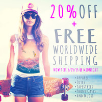Get 20% Off + Free Shipping • Now till May 25 at Midnight by soaring anchor designs | Society6