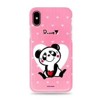 Cute Panda Snap iPhone Case Pink by Rune