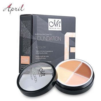 Pro Concealer Face Primer Cream Contour Palette Kit Make Up Facial Contouring Makeup Cover Palettes Corrector Base Foundation