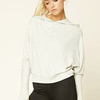 Active Dolman Hooded Sweatshirt