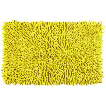 Sale ! Cotton Chenille Bath Rugs | Sunshine