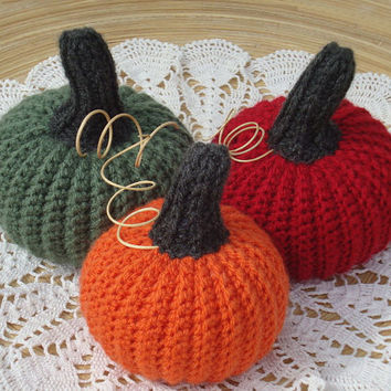 Thanksgiving Pumpkins, set 14, Halloween pumpkins, crochet pumpkins decor, Thanksgiving, pumpkins, table centerpiece, decor, Halloween, fall