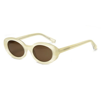 Elizabeth & James McKinley Oval Acetate Sunglasses