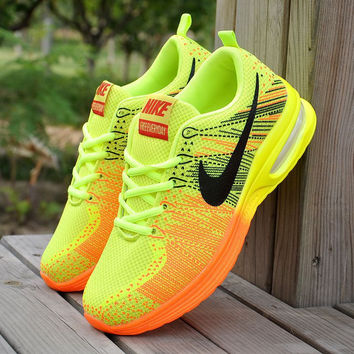 Yellow Fashionable Stylish Casual Unisex Sports Running Outdoor Shoes for Travelling