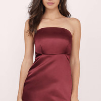 Nobu Strapless Bodycon Dress