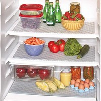 Antimicrobial Mold and Mildew Resistant Dishwasher Safe Refrigerator or Freezer Mat Rolls