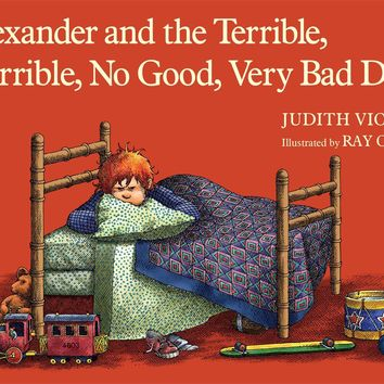 Alexander and the Terrible, Horrible, No Good, Very Bad Day (Classic Board Books) Board book – January 7, 2014