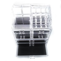 7 Compartment Cosmetic Makeup Organizing Chest