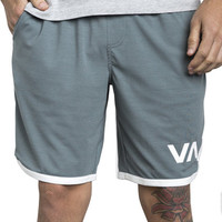 "Shop RVCA VA Sport 20"" Shorts in Storm Blue 