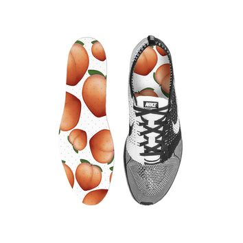 Peach Frenzy Custom Insoles