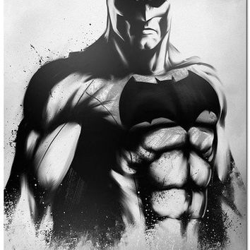 Batman vs Superman Movie Art Silk Fabric Poster 24x36inch Dawn Of Justice 011 (Size: 60cm by 90cm) = 1928041348