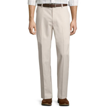 St. John's Bay® Easy-Care Classic Flat-Front Pants - JCPenney