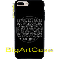 Spells Winchester Supernatural CASE COVER iPhone 6s/6s+7/7+8/8+,X and Samsung