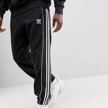 Adidas cloverleaf men's trousers new sports pants, knits at the end of the small foot, casual loose pants