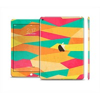 The Vibrant Bright Colored Connect Pattern Skin Set for the Apple iPad Air 2