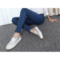 Big size skinny jeans for women elasticity plus size 32 to 40 size pencil jeans denim trousers full length jean pants