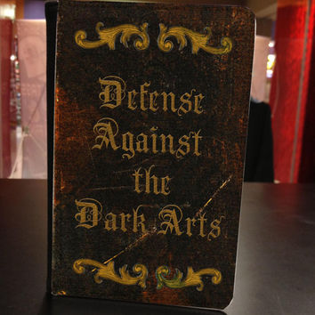 harry potter inspired - Defense Against the Dark Arts -  Kindle Fire Leather Book Cover Case