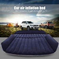 Car SUV Air Mattress Back Seat Inflatable Bed with Air Pump
