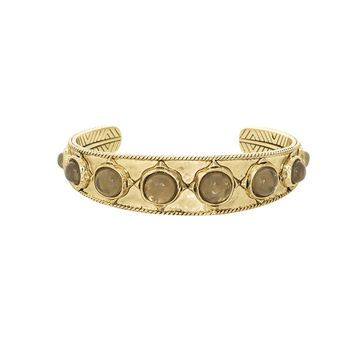 House of Harlow 1960 Jewelry Sea Stones Cuff -