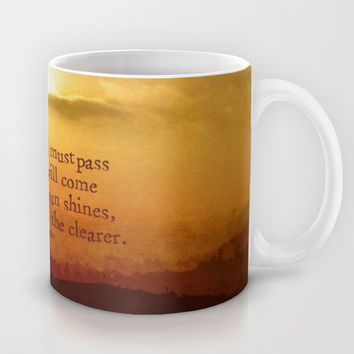 LORD OF THE RINGS Mug by Brittney Weidemann
