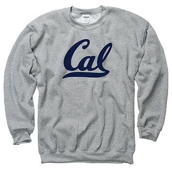 Men's University Of California Berkeley Cal Script Crew Neck Sweatshirt