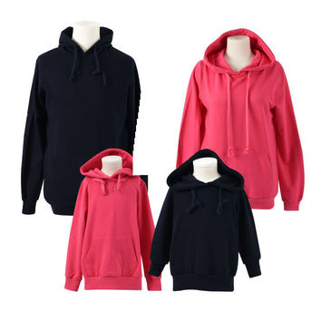 Hoodies casual family clothing