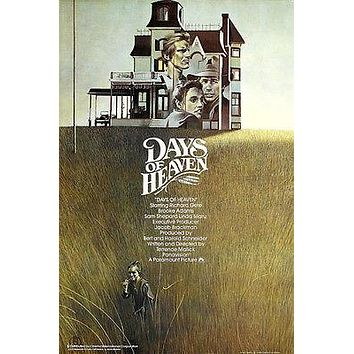 DAYS of heaven MOVIE POSTER richard GERE brooke ADAMS family STORY 24X36